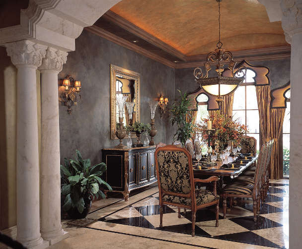 West Coast Florida Design Project mediterranean-dining-room