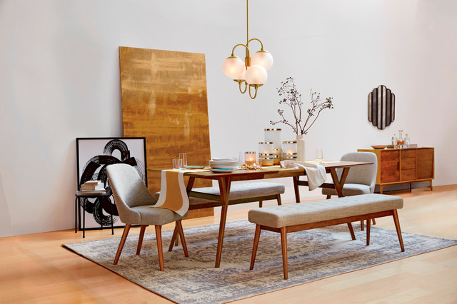 west elm contemporary dining room