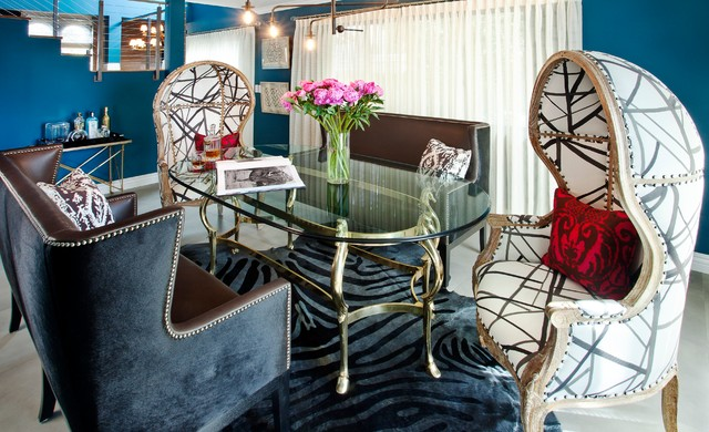 West Hollywood contemporary-dining-room
