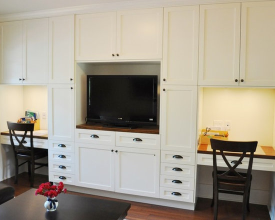 idea kitchen cabinets homeschool room dining design ideas pictures remodel amp decor 17469