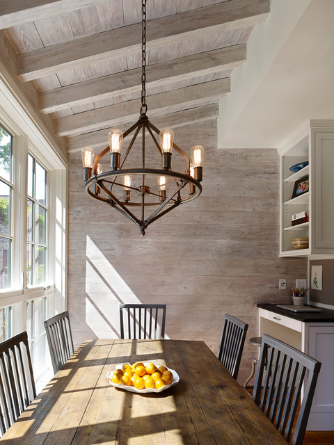 Farmhouse Style To Your Dining Room, Farm Style Dining Room Chandelier