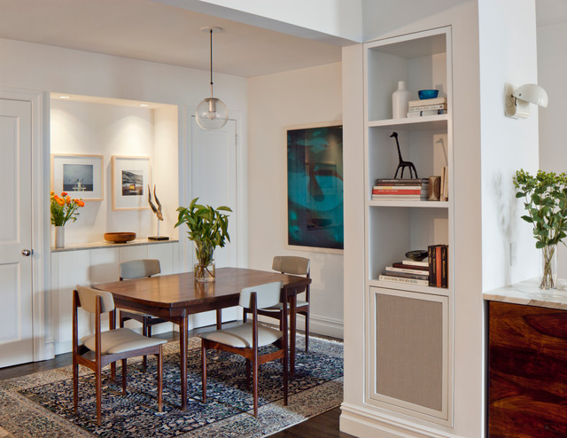 West Village Residence contemporary-dining-room
