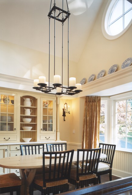 Westchester Whimsy Traditional Dining Room New York