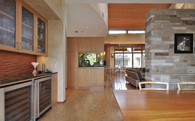 Westlake Residence contemporary-dining-room