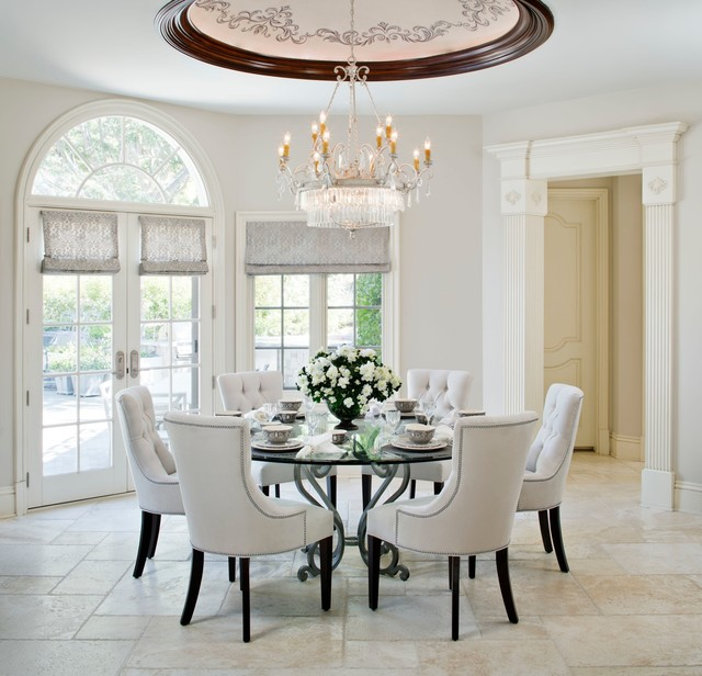 traditional dining room los angeles by model design inc