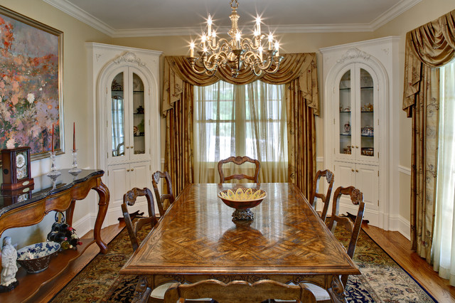 Westport, CT Corner Cabinets in Dining Room - Traditional ...