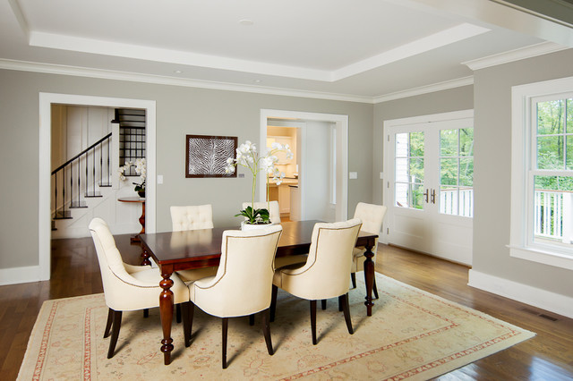 Westport Farmhouse for the Modern Traditionalist farmhouse dining room