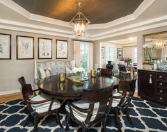 Westwood Home traditional dining room