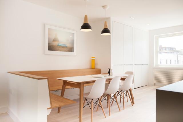 Wg w2 scandinavian dining room london by glanmoor design - Scandinavian style dining rooms ...