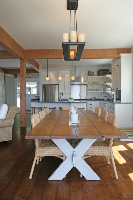 Whale House Coastal Dining Room Vancouver By Sunshine Coast Home Design