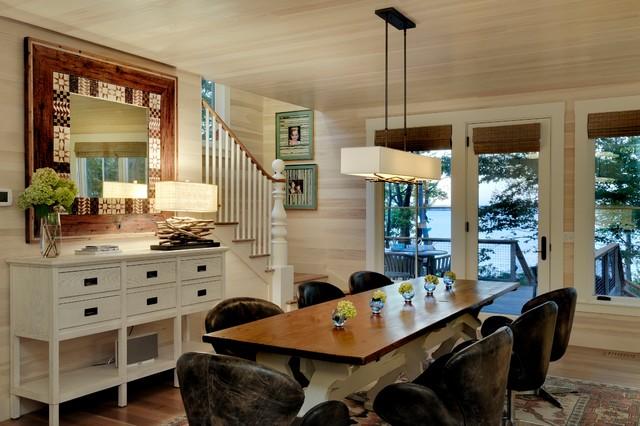 Wharf House Beach Style Dining Room Portland Maine
