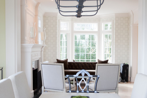 Charming Noir Relaxed Abacus Chair, Interior Design By Jennifer Baines Interiors