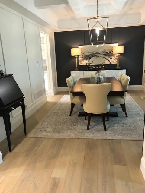 White Oak Hardwood & Botero Area Rug