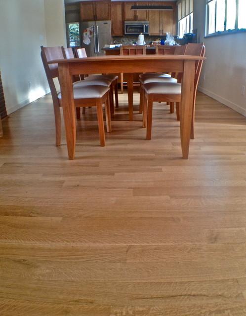 White Oak - Rift & Quartered contemporary-dining-room