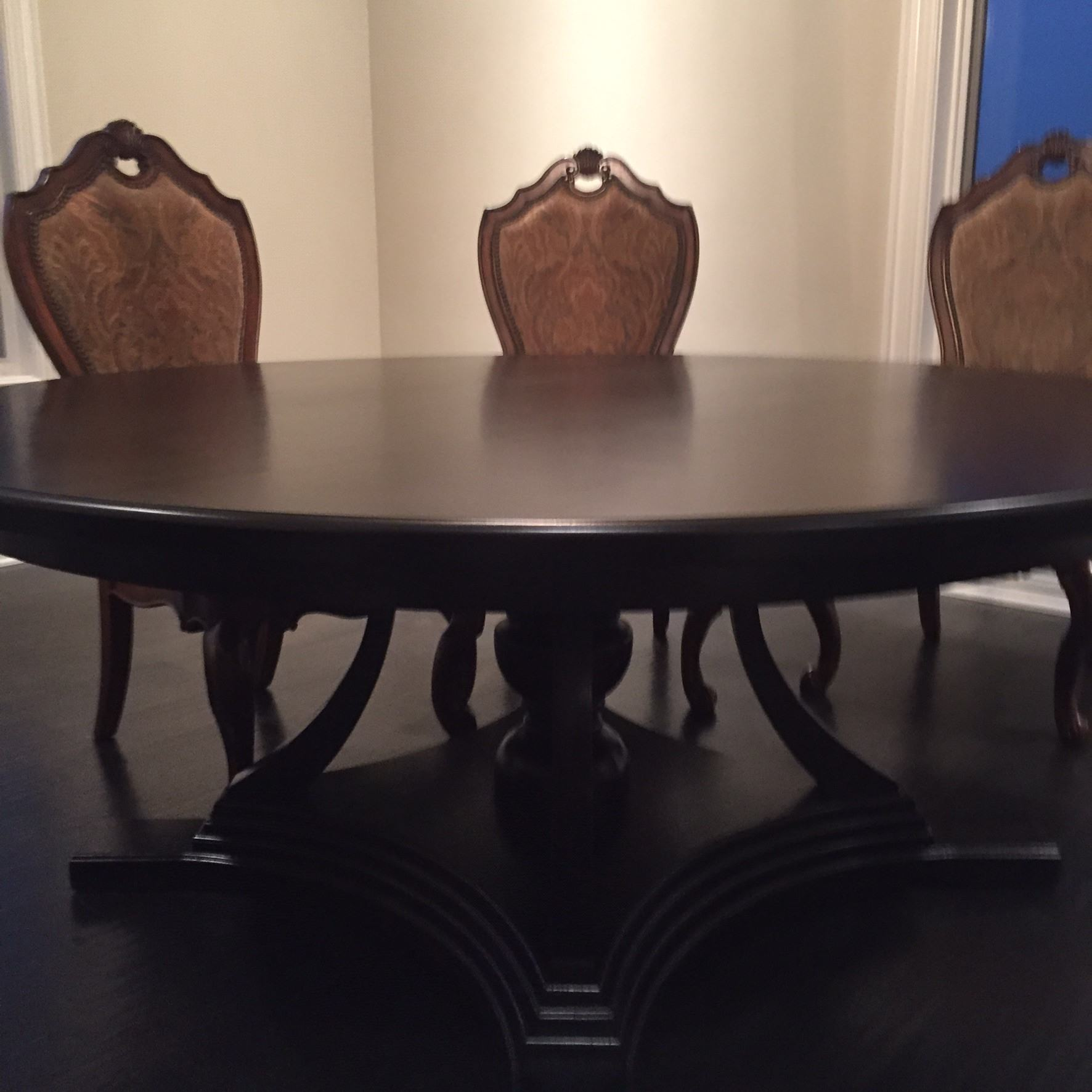 White Oak Stained Dining Table