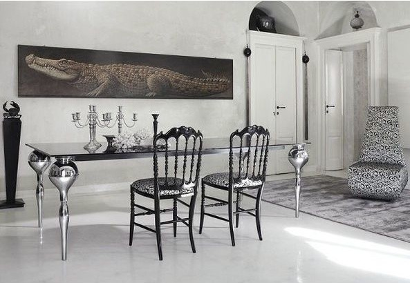 white poured resin flooring Manchester North East of England Contemporary Dining Room, Manchester