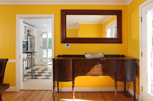 Whole house remodel falls church va eclectic dining for Dining room 56 willoughby street