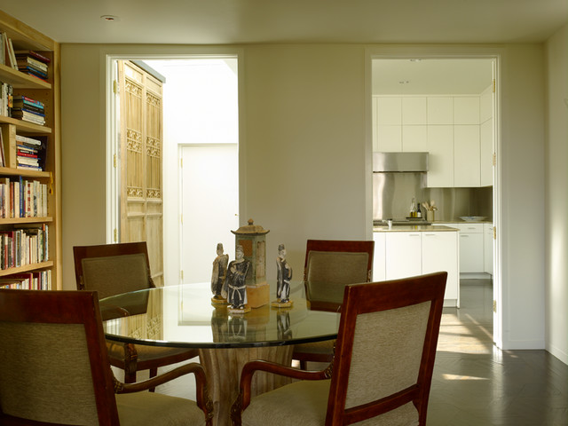 Wilkinson-Given Townhouse contemporary-dining-room