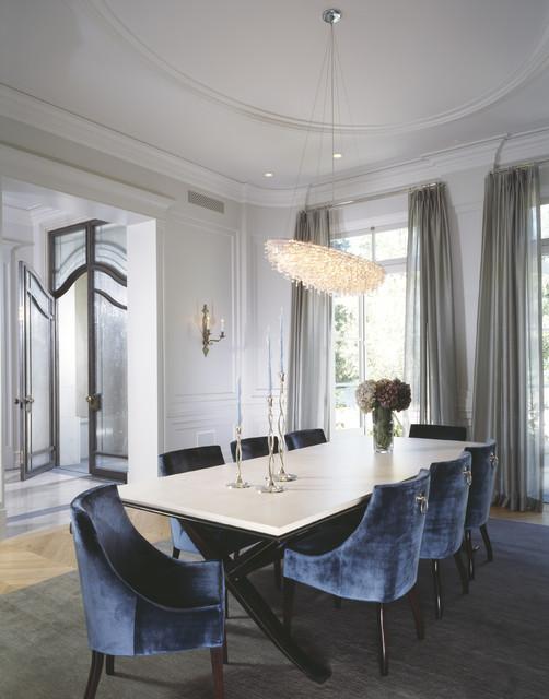 William Hefner Architecture Interiors & Landscape transitional-dining-room