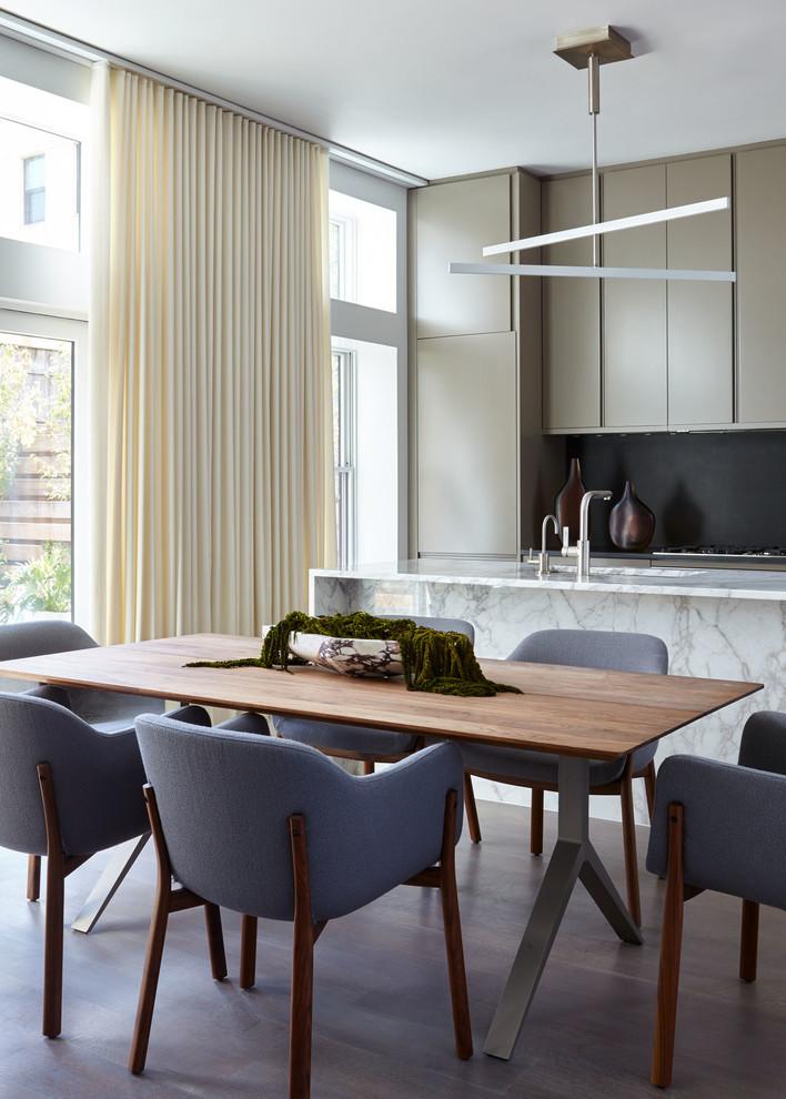 Williamsburg Carriage House Modern Dining Room New York By Sergio Mercado Design