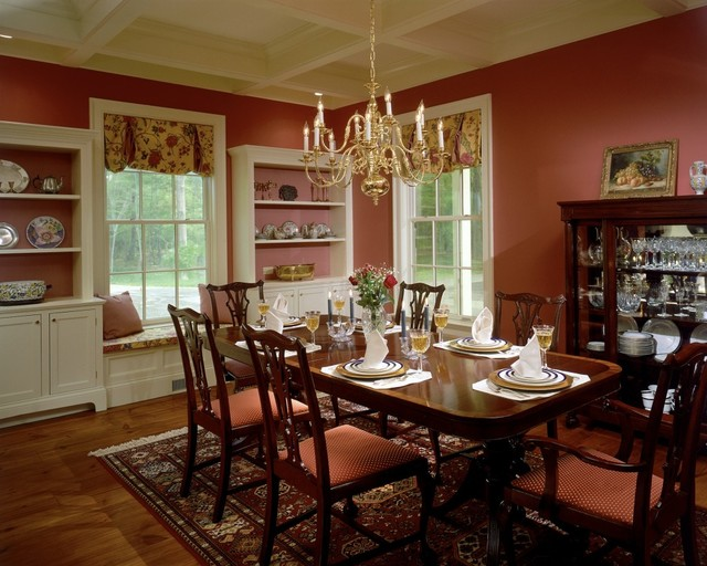 Williamstown Ma Residence Traditional Dining Room