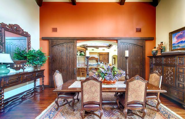 Willow Glen Custom Residence mediterranean-dining-room