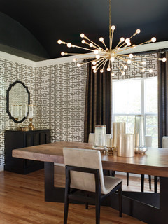 Willow Glen Residence modern dining room