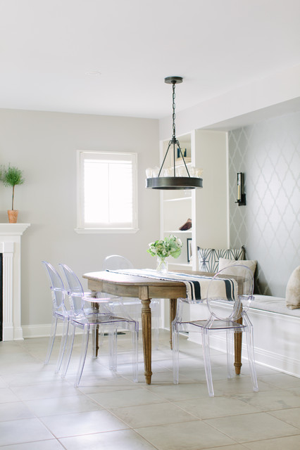 willow dining room | Willow Residence: Classic Cape Cod