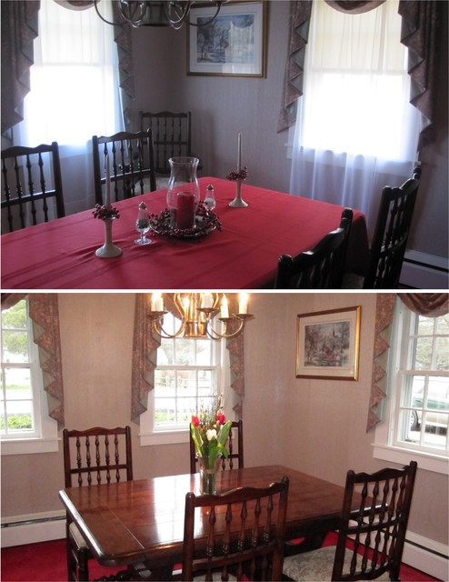 Willow Street, Bass River - Traditional - Dining Room ...