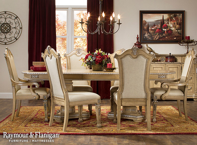 Wilshire Dining Collection, Raymour And Flanigan Dining Room Sets