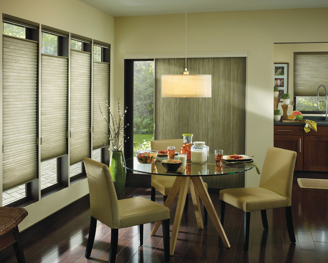 Window Coverings Modern Dining Room