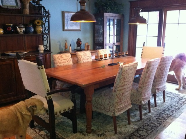 Window Treatments and Beautiful Spaces by Designs By M, LLC eclectic-dining-room
