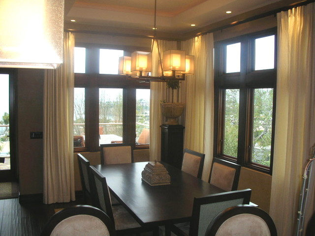 Window treatments for Dining room window treatments