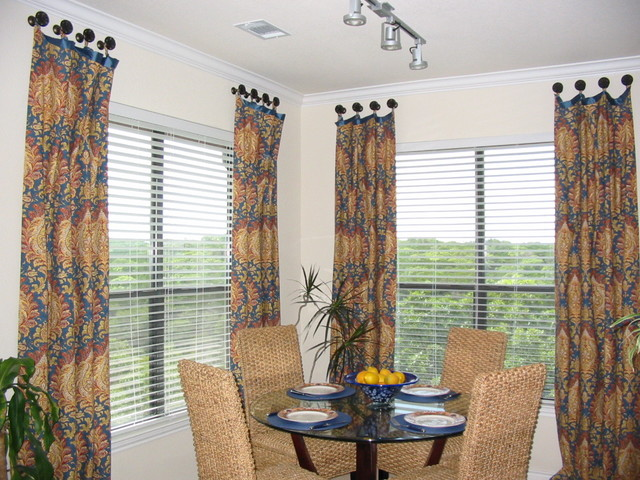 Window Treatments Traditional Dining Room Austin by