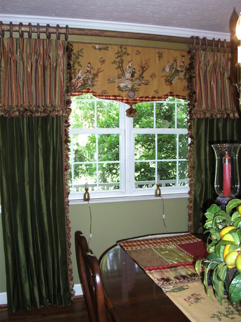 Window Treatments dining-room