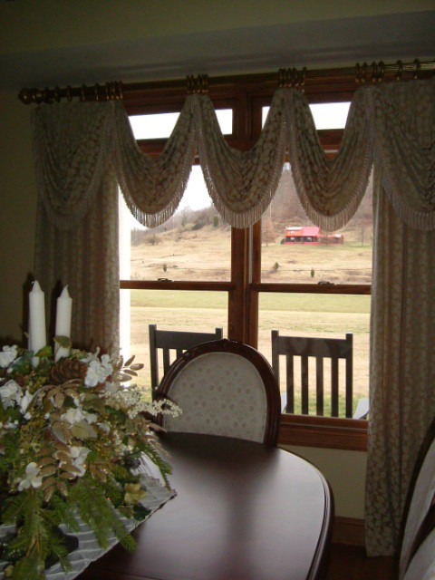 Window Treatments  dining room