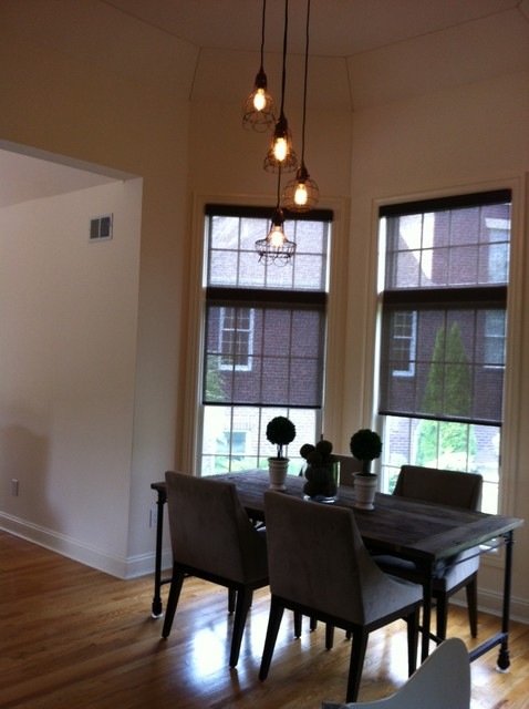 window treatments make a home traditional-dining-room