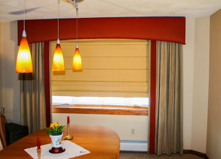 Window Treatments Contemporary Dining Room Other