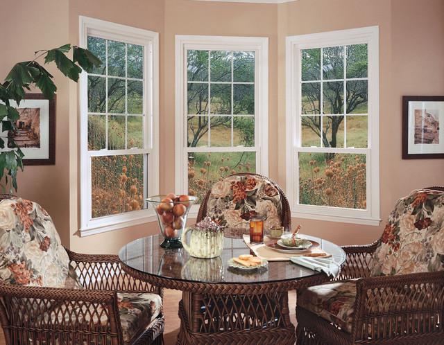 Windows & Doors midcentury-dining-room