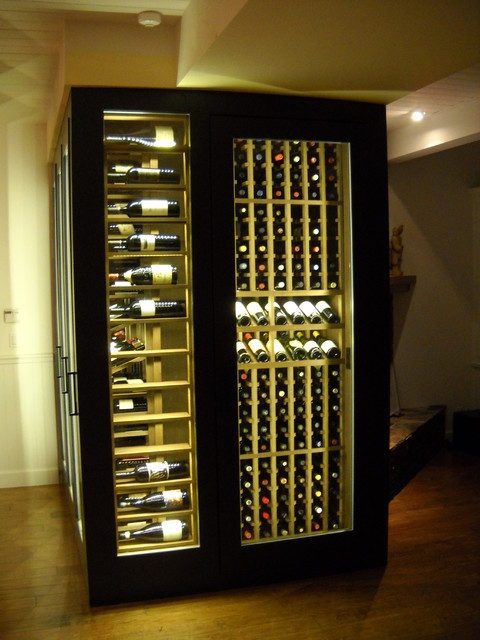 Wine Cabinet Display LED Lighting - Traditional - Dining ...