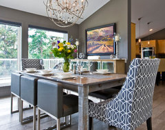 Wine Country Estate contemporary-dining-room