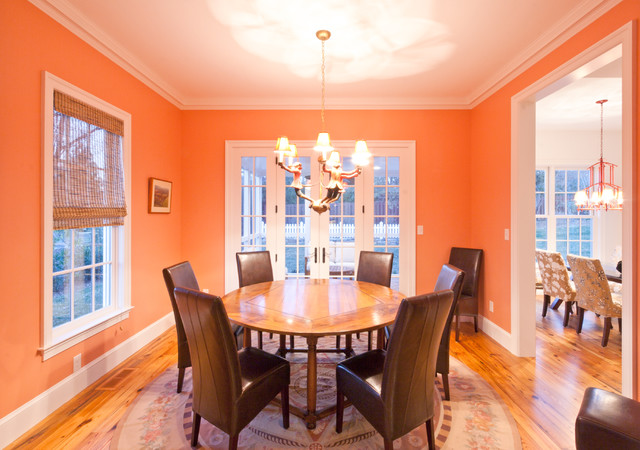 Wine Street Traditional Dining Room Other Metro By Element Construction