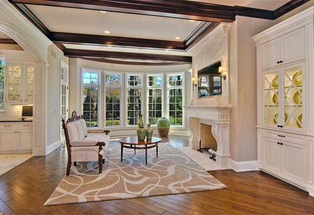 Winnetka Luxury Custom  Home traditional-dining-room