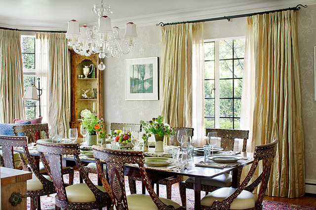 Winnetka Residence traditional-dining-room