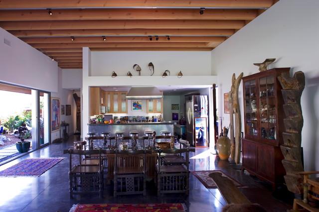 Wolfe Residence modern-dining-room