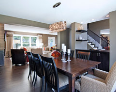 Baltes Remodel transitional dining room