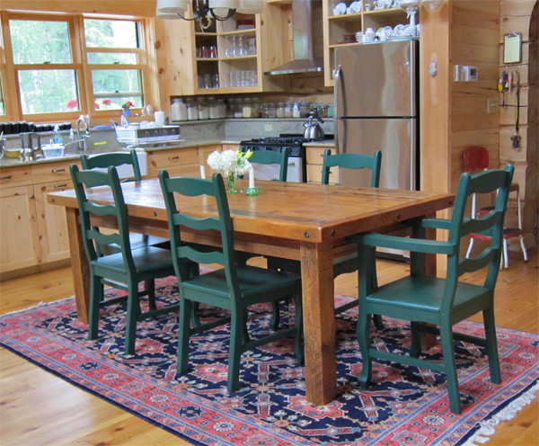 Woodland Creek Furniture eclectic-dining-room