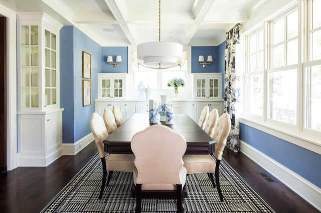 Transitional Dining Room By Martha OHara Interiors
