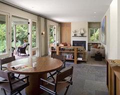 rectangular living space in small condo