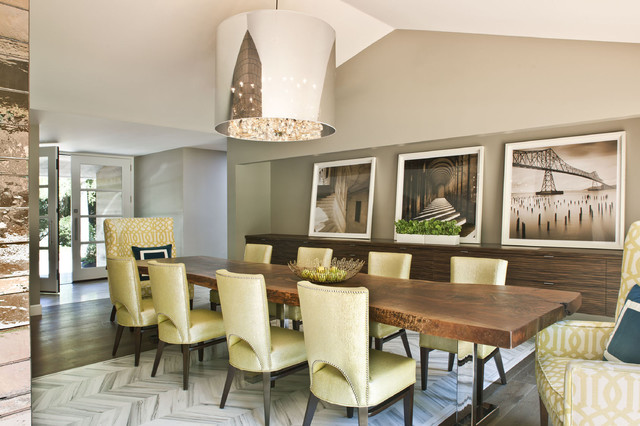 Woodvale Residence transitional-dining-room